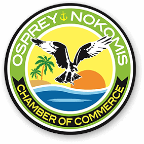 Osprey Nokomis Chamber of Commerce logo