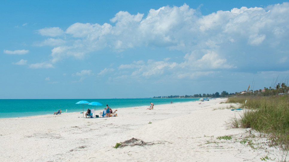 Nokomis Beach on Casey Key
