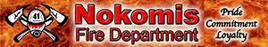 Nokomis Volunteer Fire Department Logo