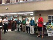Welcoming New Members at a Chamber Meeting