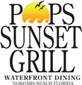 Pop's Sunset Grill Logo