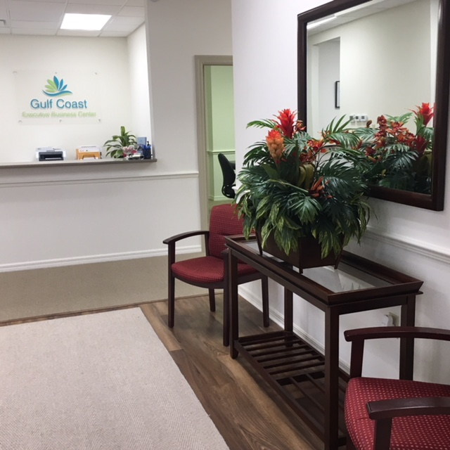 entrance and reception area