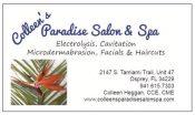 Colleen's Paradise Salon and Spa - electrolysis, cavitation, microdermabrasion, facials and haircuts