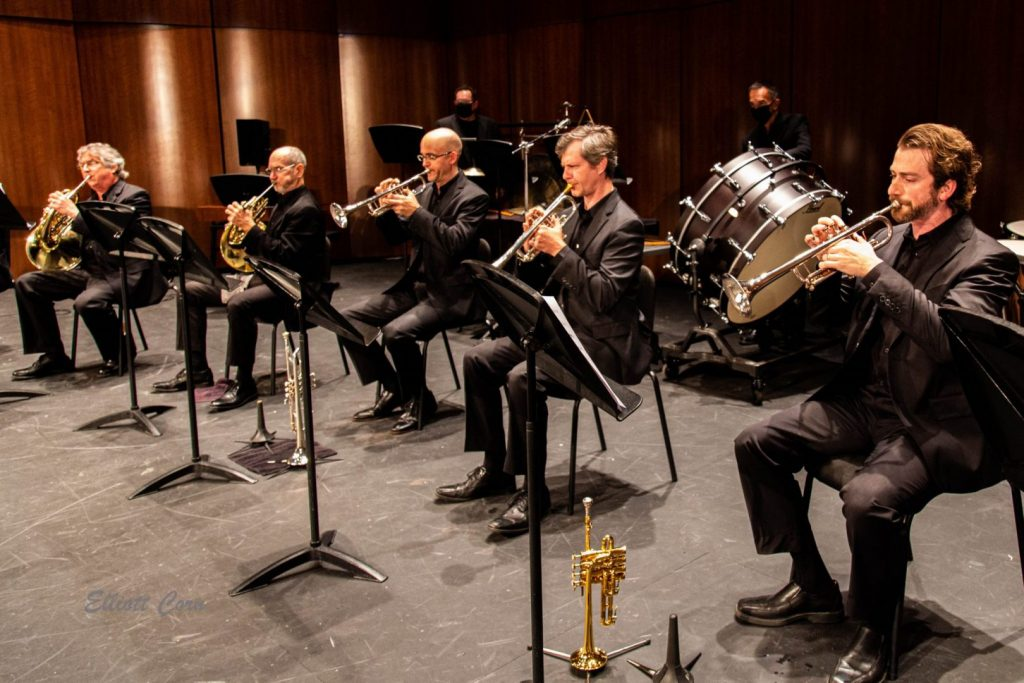 Venice Symphony brass and percussion
