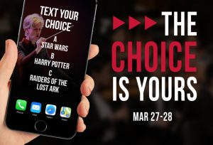 The Choice is Yours flyer