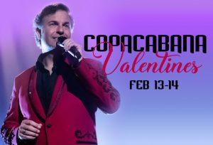 Copacabana Valentines flyer