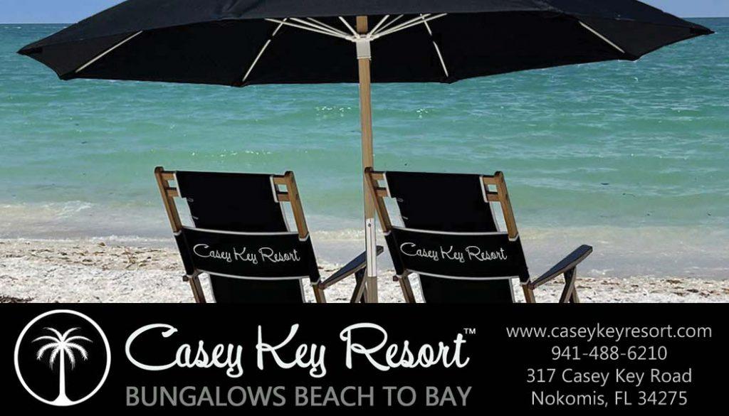 Casey Key Resort - Biz Card 1