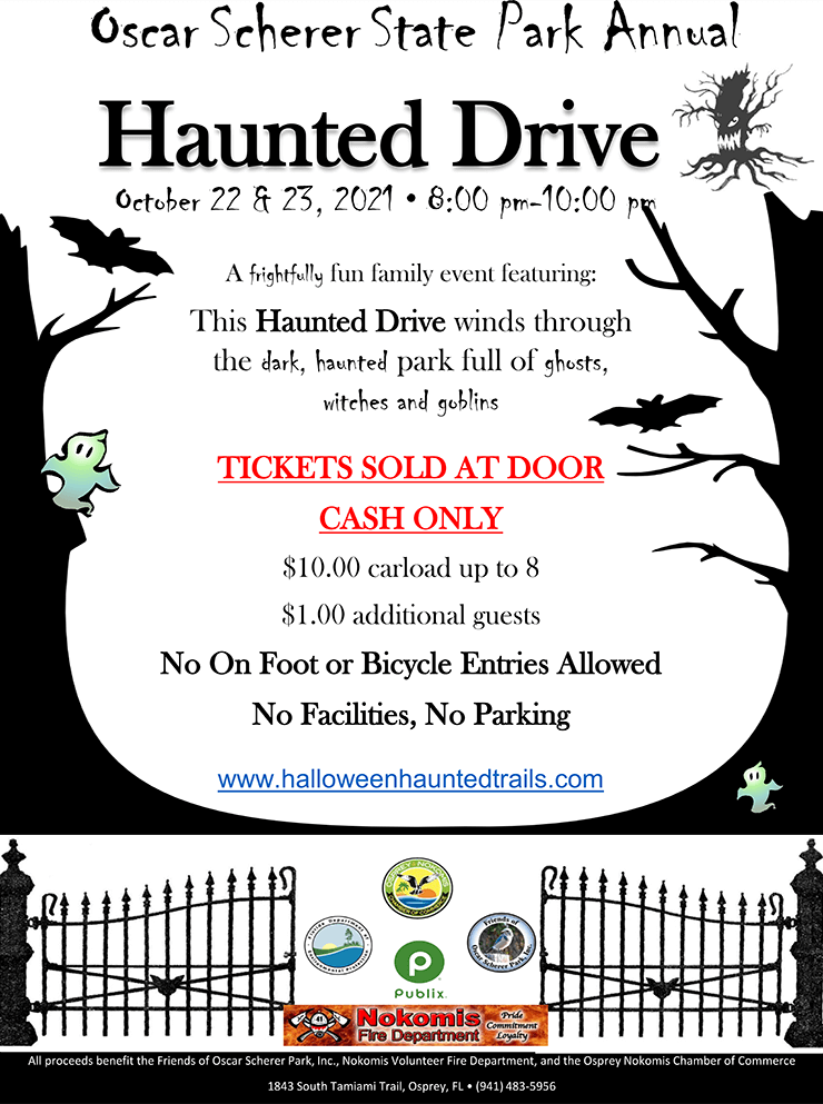 Haunted Drive flyer